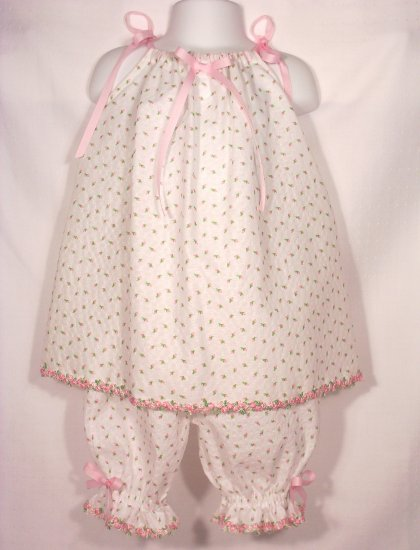 CameoRose - Pillowcase Dress and Pantaloons - Infants - Toddlers - Little Girls