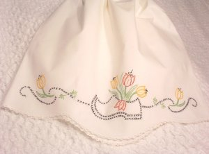Holly - Pillowcase Dress - Embroidered Dress - Wooden Shoe - Little Girl Vintage Heirloom Dress