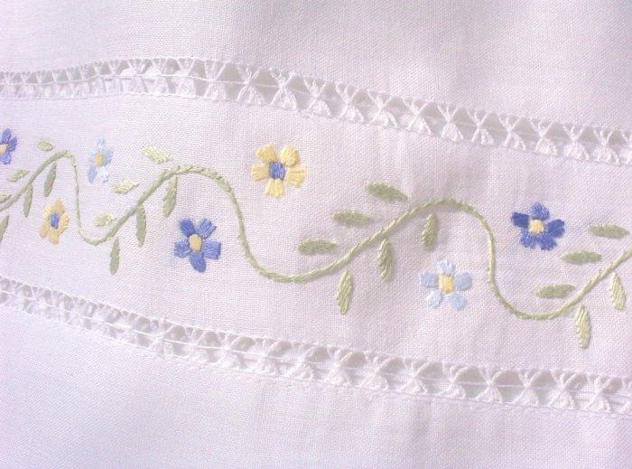 Ellen - Pillowcase Dress - Linen - Little Girls Portrait Dress - Special Occasion Dresses