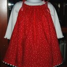 Let It Snow - Pillowcase Dress - Toddler Christmas Dress