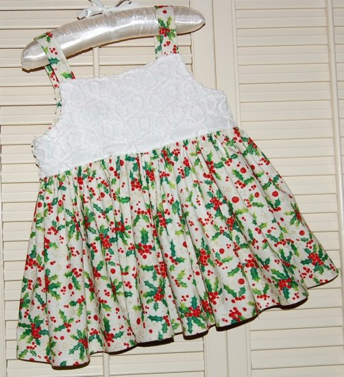 Holly n Chenille - Toddler Christmas Dress - Infant Christmas Dress