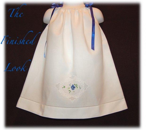 PanseyCake - Vintage Pillowcase Dress - Little Girl Dress - Little Girl Pageant Dress
