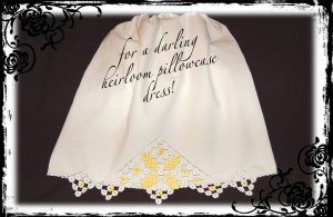 Daphne - Vintage Pillowcase Dress - Little Girl Summer Dress - Girls Heirloom Dress