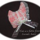 Lavender Sachet - Vintage Style Bonnet - Lavender Sachets - Unique Gift Idea
