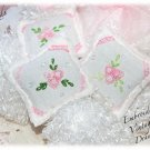 Drawer Sachets - Linen and Chenille - Lavender Gifts - Sachet