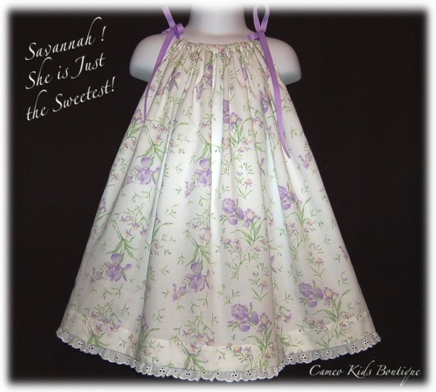 Savannah - Spring Dress - Summer Dress - Pillowcase Dress