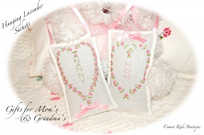 Special Request Order for Linda - Mom and Nanny Lavender Sachets - Personalized