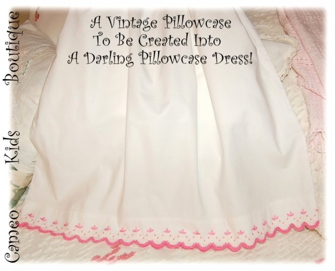 Priscilla - Pillowcase Dress - Little Girls Dress