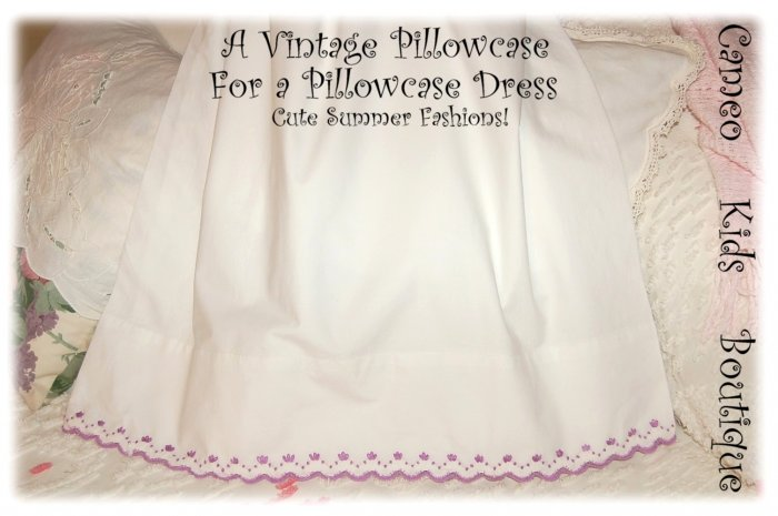 Sherry - Pillowcase Dress - Summer Frocks for Little Girls