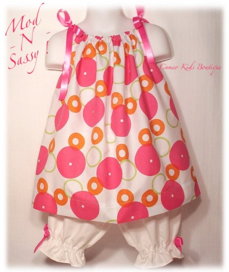 Special Request Order for Mrs. Martin - Sassy - Pillowcase Dress and Pantaloons