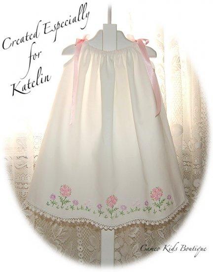 EllenGrace - Vintage Pillowcase Dress - Little Girls Heirloom Dress