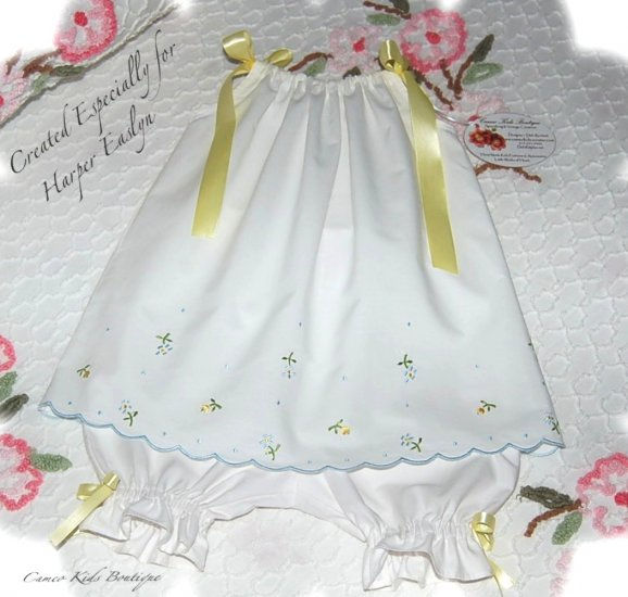 Special Request for Mary Stricklen - Darla - Pillowcase Dress