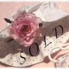 Vintage Style Floppy Sun Hat - Rosebud - Baby - Toddler - Little Girl