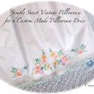 Kalina - Pillowcase Dress - Vintage - Embroidered - Girls Summer Dresses