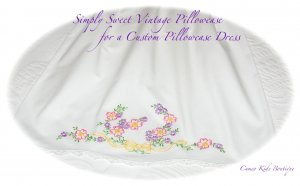 Cheri - Pillowcase Dress - Custom Made - Vintage Recreations