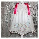 Tasha - Vintage Pillowcase Dress - Day Gown - Beach Dress - Party Dress - Little Girls