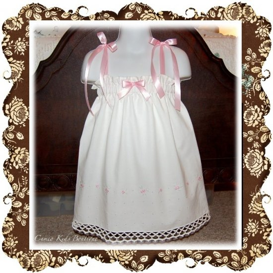 Annie - Halter Pillowcase Dress or Top - Vintage - Boutique Childrens Clothing