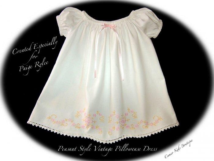 LiliAnn - Vintage Pillowcase Dress - Toddlers Summer Dress - Pick Your Dress Style