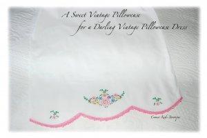 Sophie - Pillowcase Dress - Vintage - Floral - Heirloom Dresses