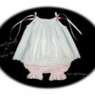 Custom Order for Belinda Only - Vintage Pillowcase Dress and Pantaloons