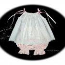 Custom Order for Belinda Only - Vintage Pillowcase Dress and Pantaloons
