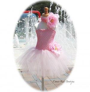 Fairy Pink Toddler Tutu Dress - Matching Headband � Tea Parties � Birthday - Portraits