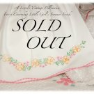 Custom Order for Tracy Fisher Only - Katlyn Pillowcase Dress for Beach Wedding