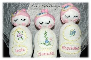 Custom Order for Shannon Only - Sock Doll - Personalized for Sheridan