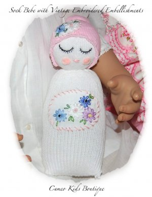 Sock Baby - Custom Order for Shannon Only