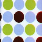 BIG POLKA DOTS ON NYLONN SPANDEX JERSEY KNIT