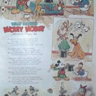 1935 Mickey's Magic Hat Featuring Long Billed Donald Duck