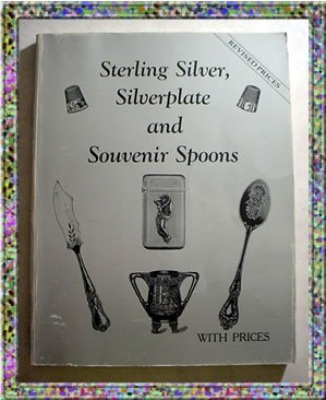 Sterling Silver Silverplate Souvenir Spoons 1987