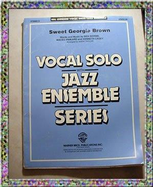 Sweet Georgia Brown Vocal Solo With Jazz Ensemble Sheet Music