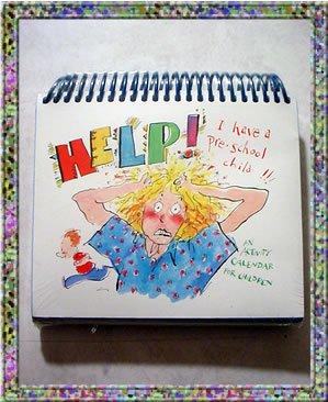 Help I Have A Preschool Child Desk Activity Calendar