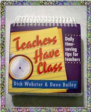 Teachers Have Class Desk Calendar NIP Garborgs