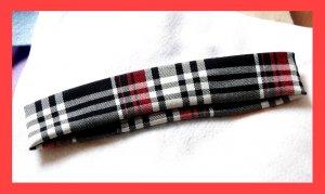 PAPAYA Great Plaid Headband -