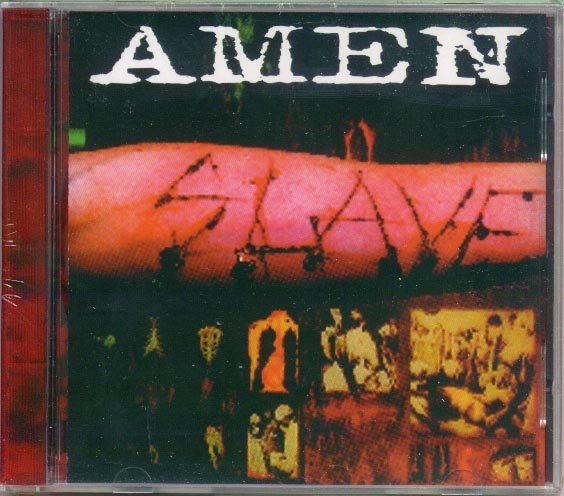 AMEN � Slave CD �96 on Drag-U-La Records SEALED Out Print and VERY RARE Must have for FANS