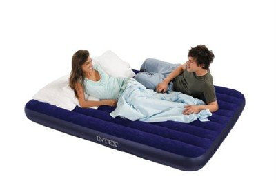 NEW IN BOX INTEX CLASSIC DOWNY QUEEN AIR MATTRESS -BED