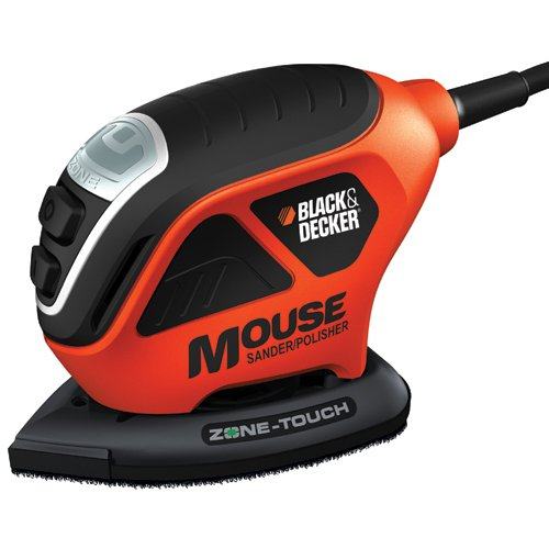 B&D Mouse Sander Polisher w/Zone Touch MS600B BLACK & DECKER