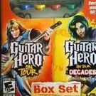 Nintendo DS Guitar Hero on Tour & on Tour Decades Box Set