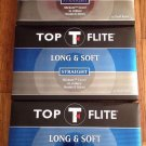 3 NEW Boxes Of Top Flite Long & Soft Straight Golf Balls 45 Balls Total