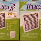 2 New Hamilton Beach True Air Replacement Filters 04711 For Model 04371 3M