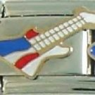Red, White & Blue Guitar