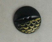 1 Sheet Celluloid Fishscale Dome Button VINTAGE BUTTONS 1 Inch