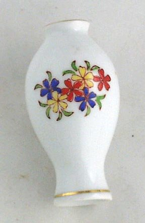 Miniature Genuine IMARI VASE  HANDPAINTED for Dollhouse