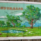 Australia STARCRAFT Linen Towel Sheep Grazing AUSTRALIA