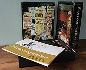 The Game of Shakespeare Bookcase Game