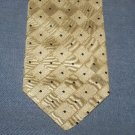 Prochownick Silk Tie Necktie Light Cream Tan Squares   C679 ~