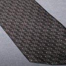 Carlos Devenezia Gray Silk Tie Necktie K4 ~