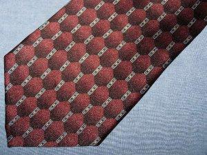 Louis Roth Burgundy Silk Tie Necktie C57 ~